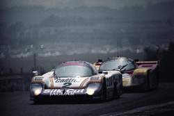 #2 Jaguar XJR-9LM Advanced: Ян Ламмерс, Джонни Дамфрис, Энди Уоллес