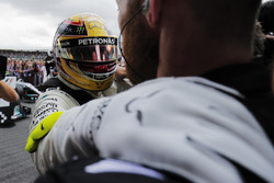 Lewis Hamilton, Mercedes AMG F1, celebrates victory