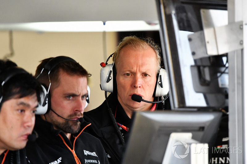 Andy Green, Force-India-Technikchef