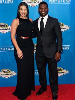 Cantante y actriz Jordin Sparks y ex jugador NFL LaDainian Tomlinson