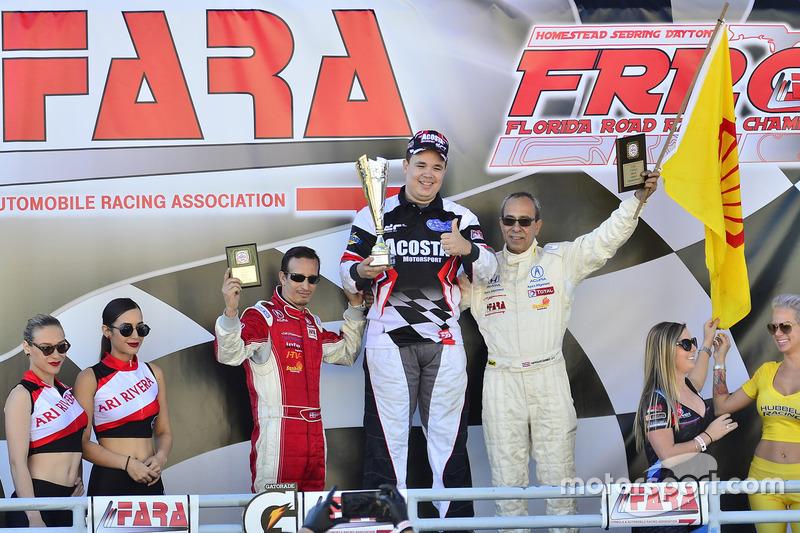 Angel Acosta de Acosta Motorsports, Herbert Gomez de Scuderia Shell Burbank