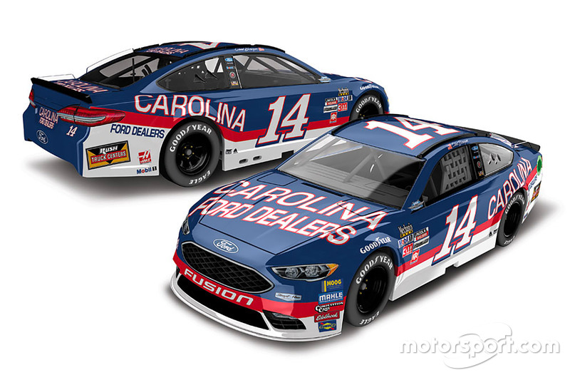 Throwback-Design: Clint Bowyer, Stewart-Haas Racing Ford