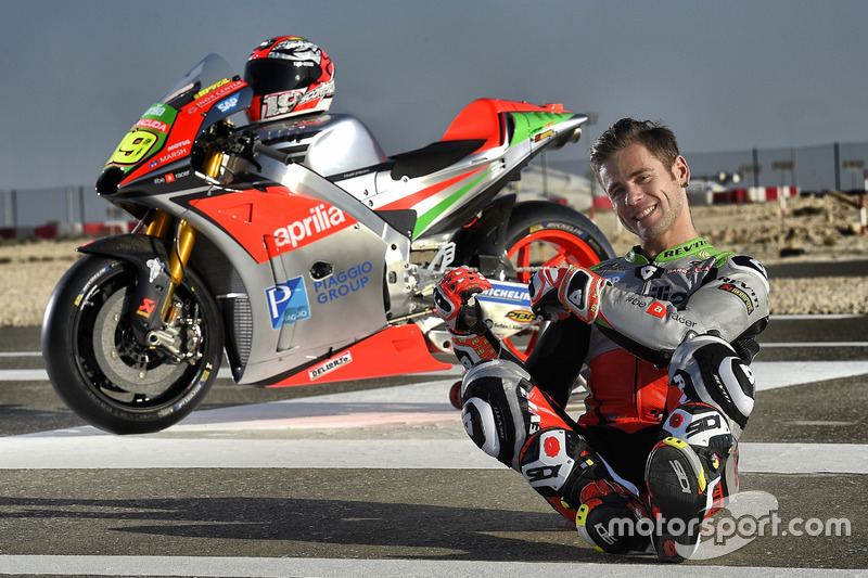 5. Alvaro Bautista, Gresini Racing Aprilia RS-GP 2016