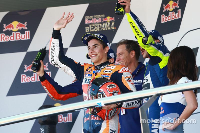 Podium: 3. Marc Marquez, Repsol Honda Team