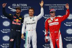 Обладатель поула - Нико Росберг, Mercedes AMG F1 Team, второе место - Даниэль Риккардо, Red Bull Rac