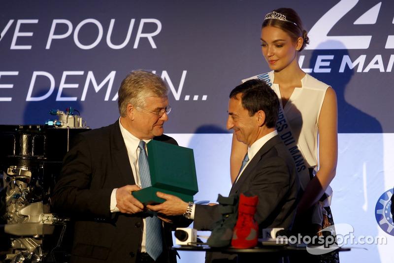 Прес-конференція ACO: Жак Ніколе і президент ACO П'єр Фійон