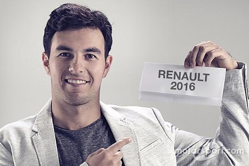 Sergio Perez verkündet Wechsel zu Renault 2016