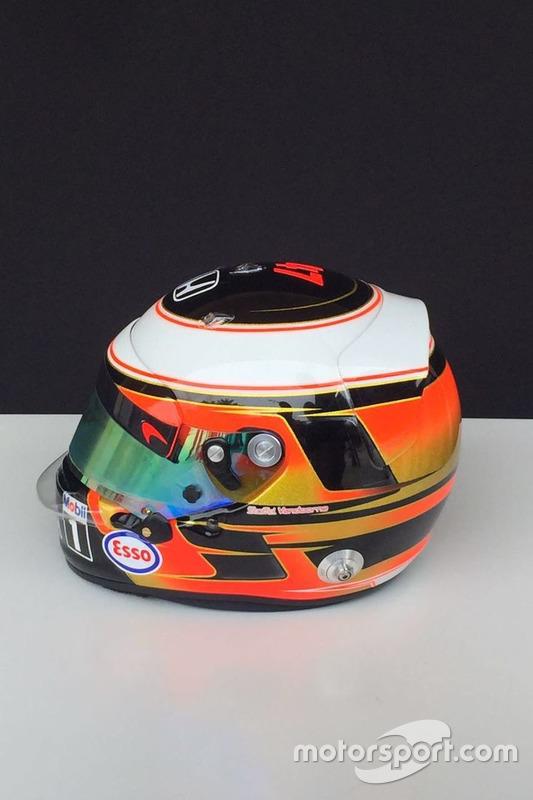 Helm von Stoffel Vandoorne