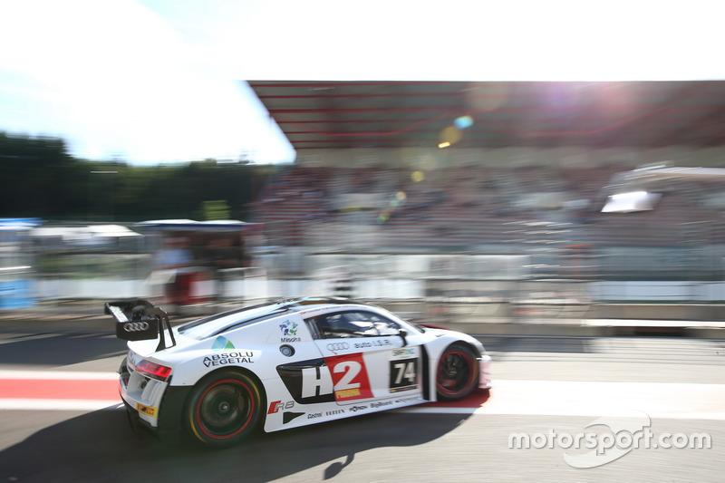 8. #74 ISR, Audi R8 LMS: Philippe Giauque, Henry Hassid, Nicolas Lapierre, Franck Perera