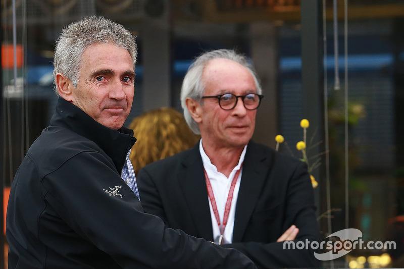 Mick Doohan, Vito Ippolito, FIM President