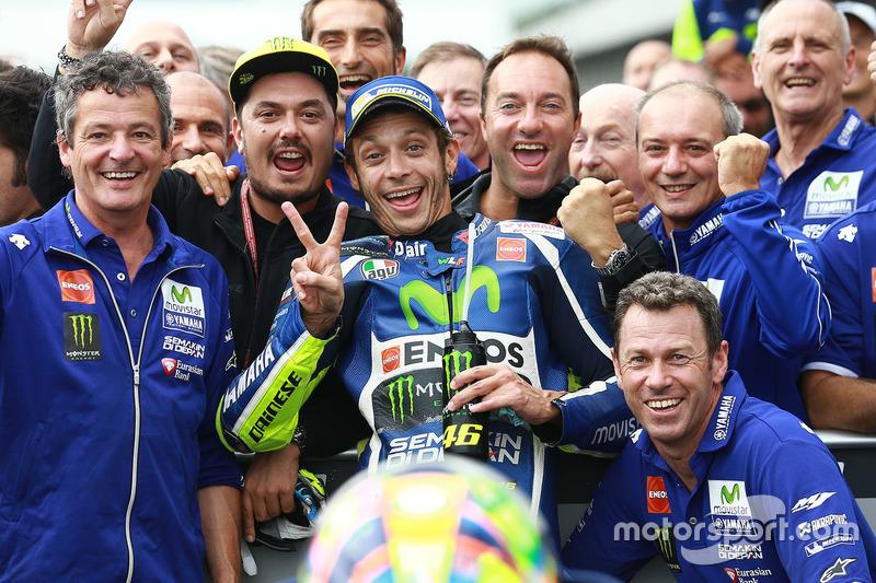 2. Platz: Valentino Rossi, Yamaha Factory Racing
