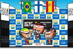 El GP de Brasil 2007, por 'MiniDrivers'