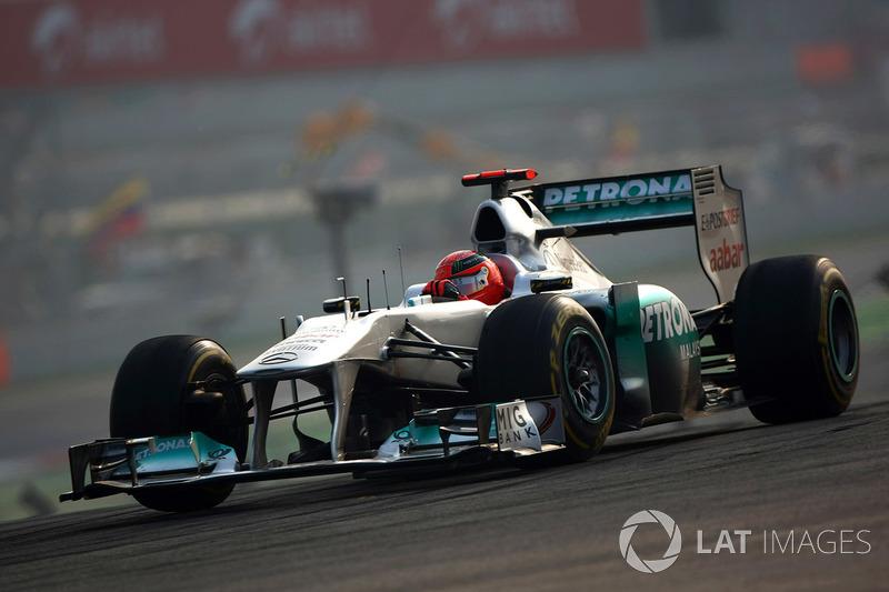2011. Mercedes MGP W02