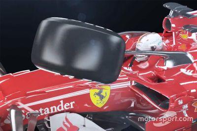 Impact Halo avec Ferrari