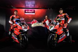 Marco Melandri, Aruba Racing Ducati, Chaz Davies, Aruba Racing Ducati