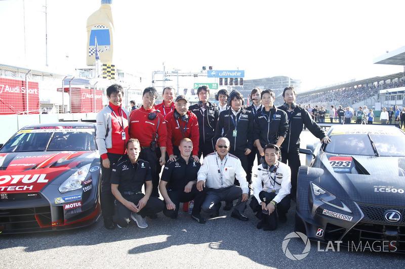 Masaki Bando, Chairman GTA di posisi start