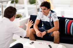 Lance Stroll, Williams during an F1 Racing magazine interview
