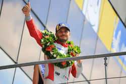 LMGTE Am podium: second place Giancarlo Fisichella, Spirit of Race
