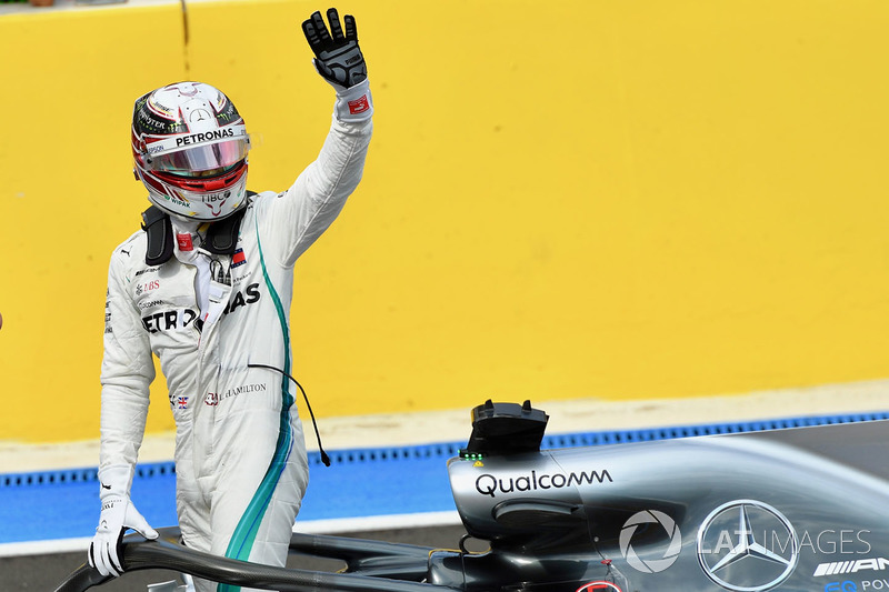 No GP da França foi a vez de Hamilton conquistar a pole