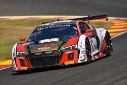 #26 Sainteloc Racing Audi R8 LMS: Nyls Stievenart, Marc Rostan, Christian Kelders, Simon Gachet