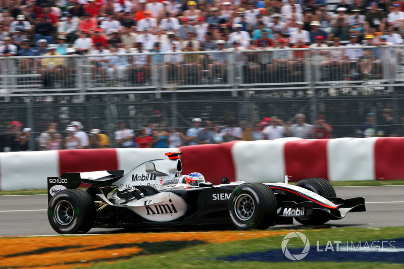 8º Kimi Raikkonen: 87 grandes premios