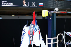 Engine Cover of Sergey Sirotkin, Williams Racing
