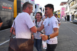 Pascal Wehrlein with Jens Munser, JMD