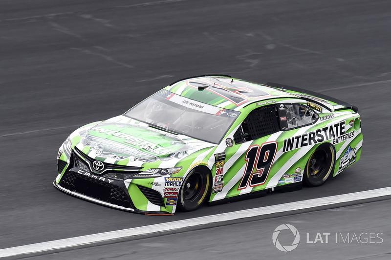 10. Daniel Suarez, Joe Gibbs Racing, Toyota Camry Interstate Batteries