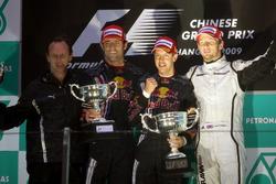 Podium: 1. Sebastian Vettel, Red Bull; 2. Mark Webber, Red Bull; 3. Jenson Button, Brawn