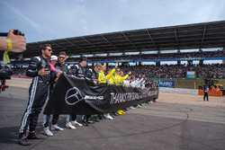 AMG Mercedes drivers