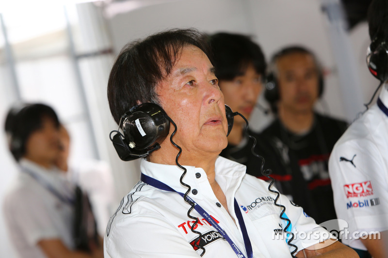 星野一義監督(ITOCHU ENEX TEAM IMPUL)
