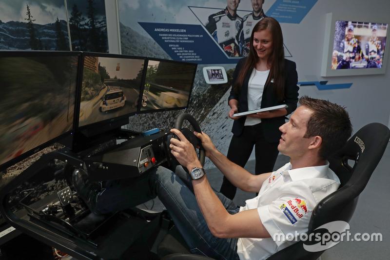 Sébastien Ogier at the Opening event