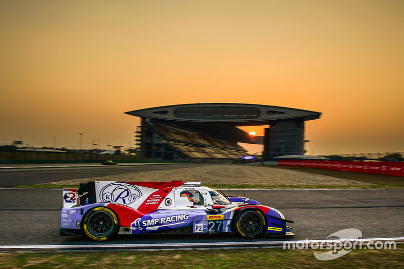 7. LMP2: #27 SMP Racing, BR01 Nissan