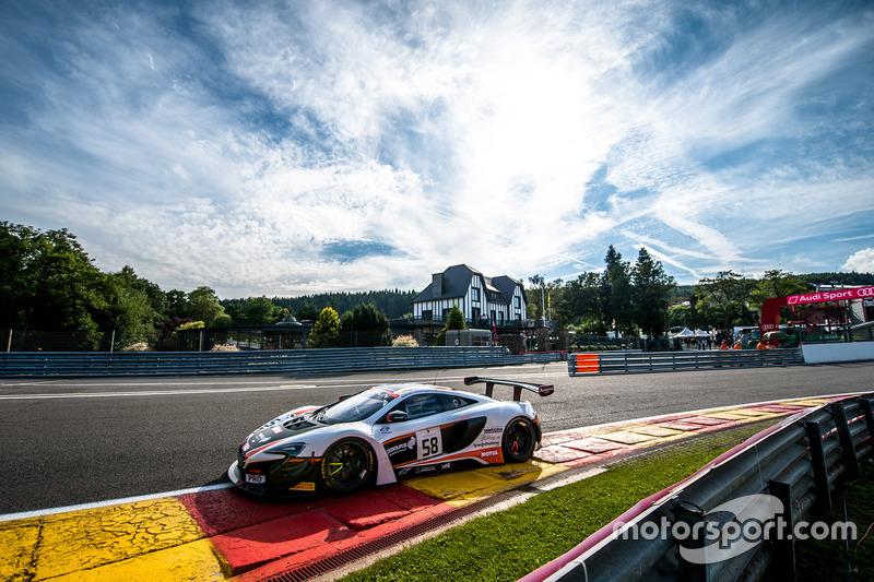 #4. Garage 59, McLaren 650 S GT3: Shane Van Gisbergen, Côme Ledogar, Rob Bell