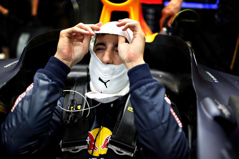 Daniel Ricciardo de Australia y Red Bull Racing