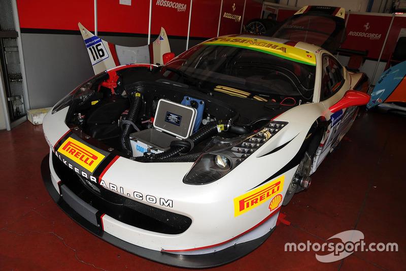 #116 Rossocorsa, Ferrari 458: Jean-Claude Saada