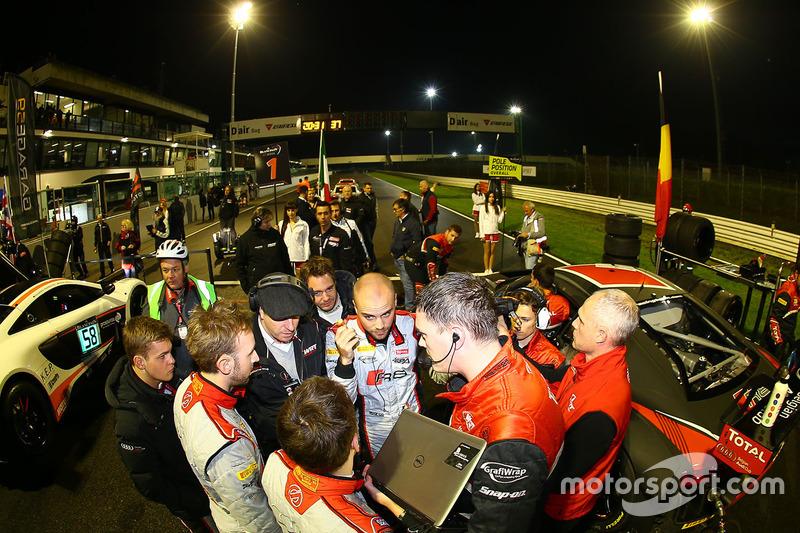 Belgian Audi Club Team WRT team meeting