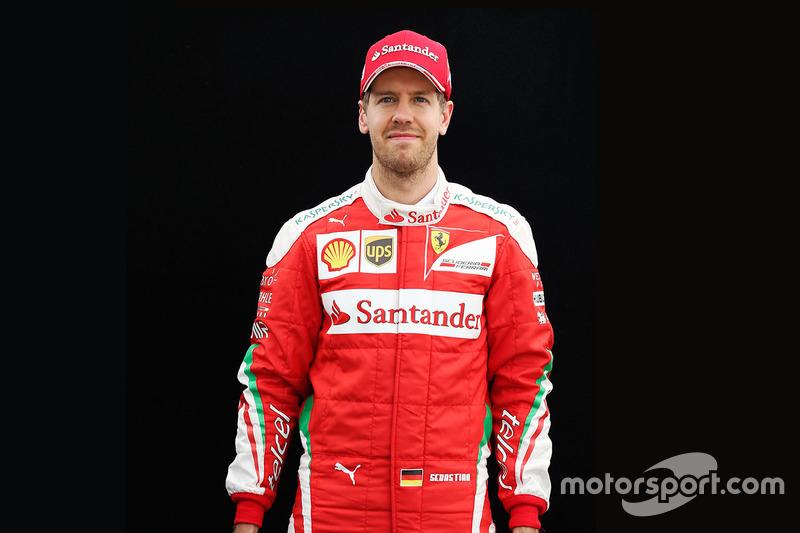 Sebastian Vettel, Ferrari (martes)
