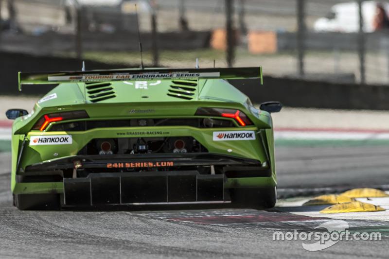 Der neue Lamborghini Huracán GT3 (hier in der 24-Stunden-Serie)