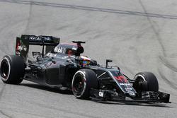 Stoffel Vandoorne, McLaren MP4-31 Test- en reservecoureur