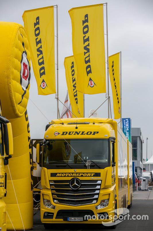 Dunlop tire transporter