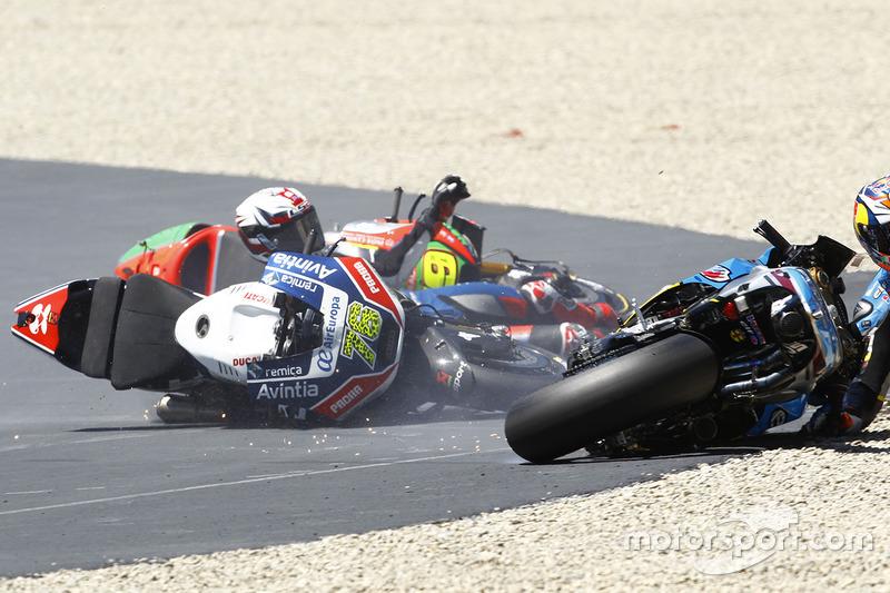 Джек Міллер, Marc VDS, Лоріс Баз, Avintia Racing, Альваро Баутіста, Aprilia Racing Team Gresini авар