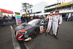 Race winner #33 Belgian Audi Club Team WRT Audi R8 LMS GT3: Enzo Ide, Christopher Mies