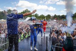 Себастьен Буэми, Renault e.Dams; Николя Прост, Renault e.Dams и Даниэль Абт, ABT Schaeffler Audi Sport