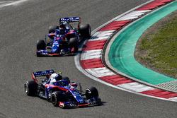 Пьер Гасли и Брендон Хартли, Scuderia Toro Rosso STR13