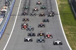 Felipe Massa, Williams FW36 startta lider