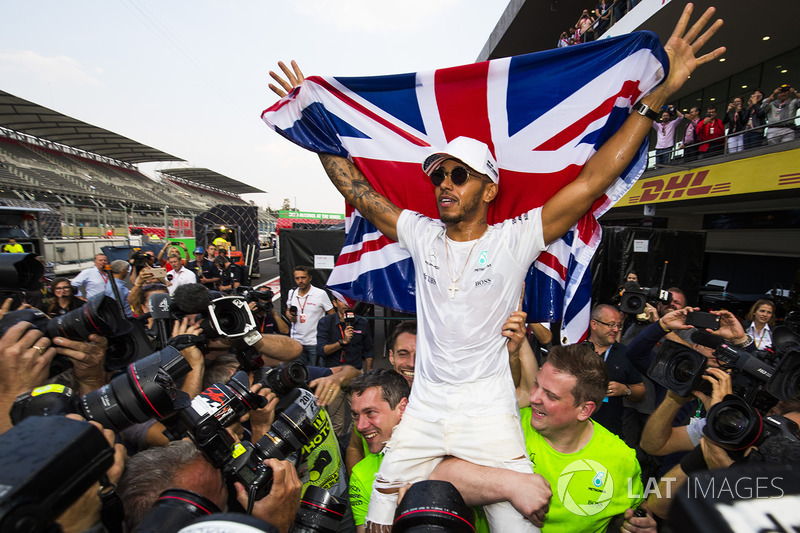 1: Lewis Hamilton