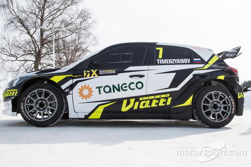 Автомобиль Тимура Тимерзянова, GRX Taneco Team