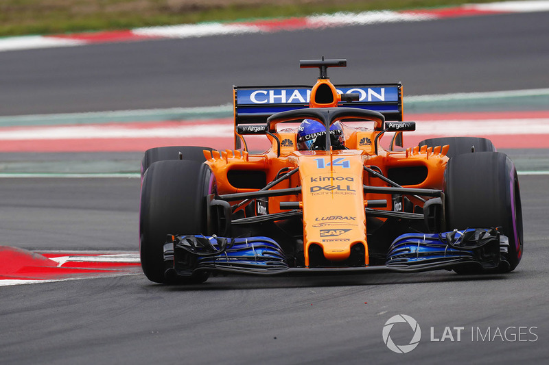 fernando alonso, mclaren mcl33 at barcelona february testing on
