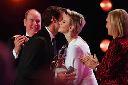 Roger Federer su Laureus de Charlene, Princesa de Mónaco